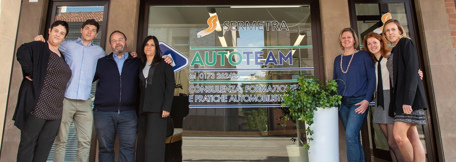 Agenzia Autoteam - Le Nostre Sedi