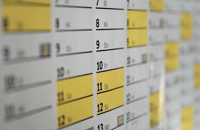 Occhio al calendario! Entro aprile scadono i termini per la presentazione del MUD 2019